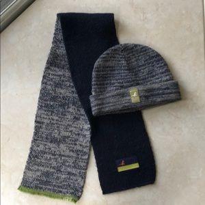 Catimini hat and scarf set